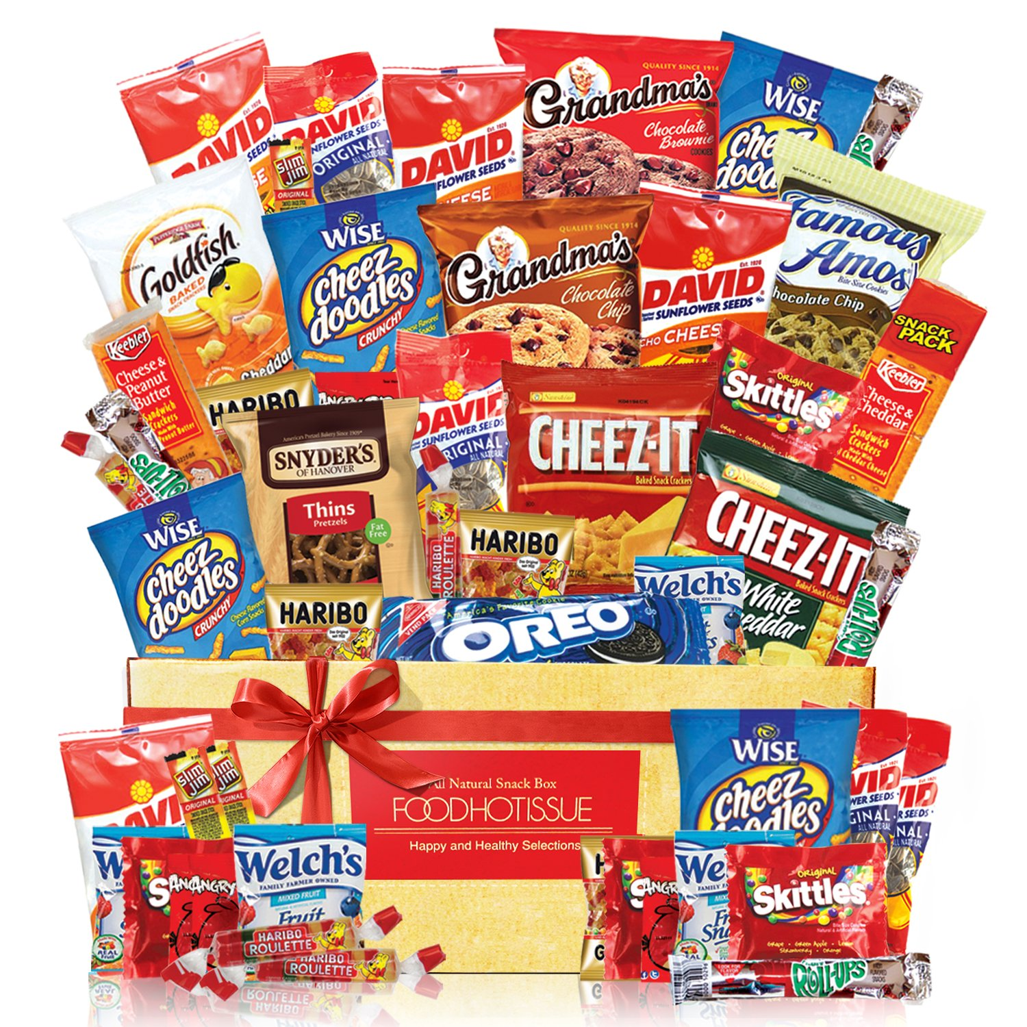 Snack Gift Party Bundle Care Package 50 Count