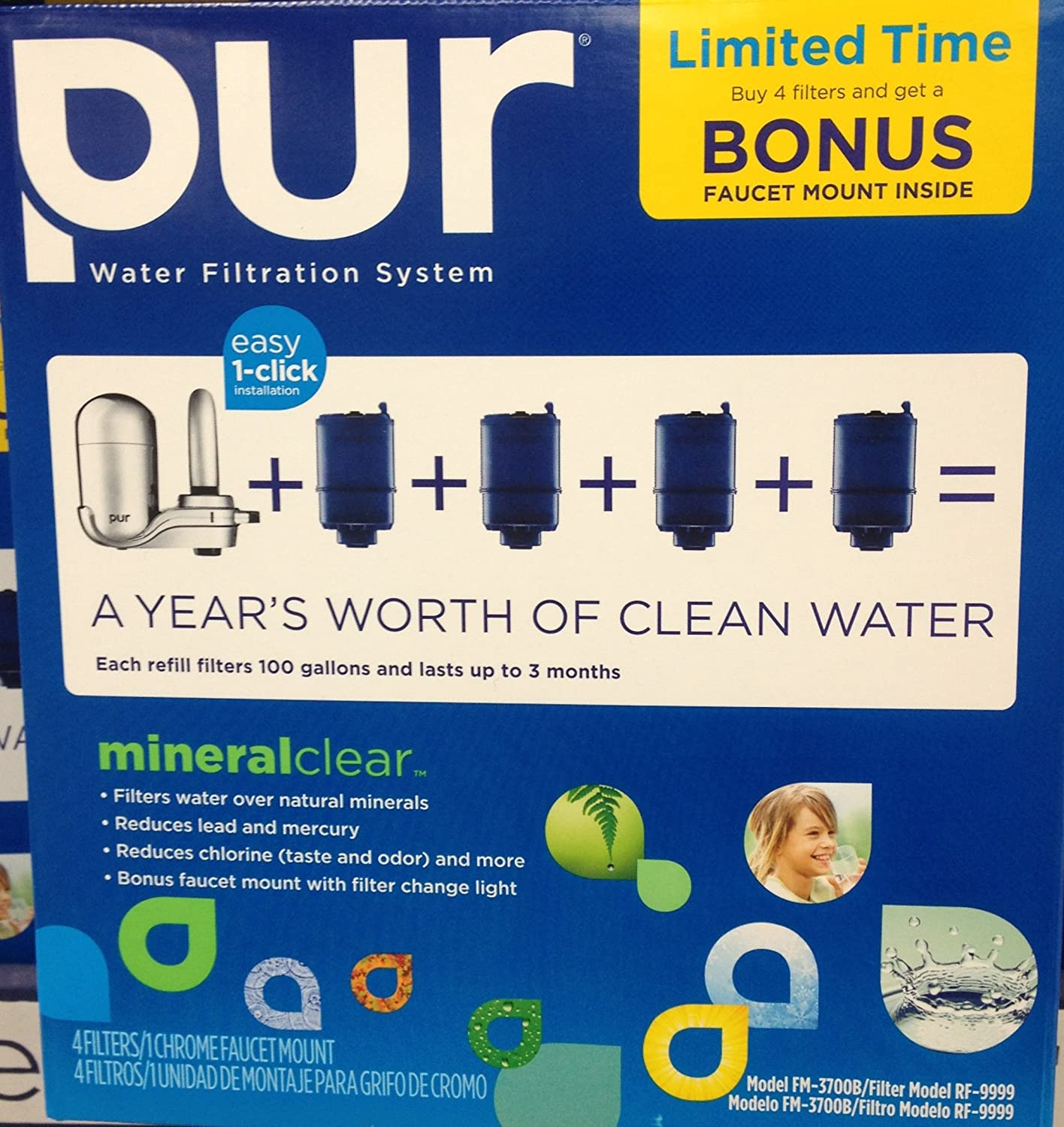 Comparison of Faucet Mounted Water Filters | Chlorine Filters