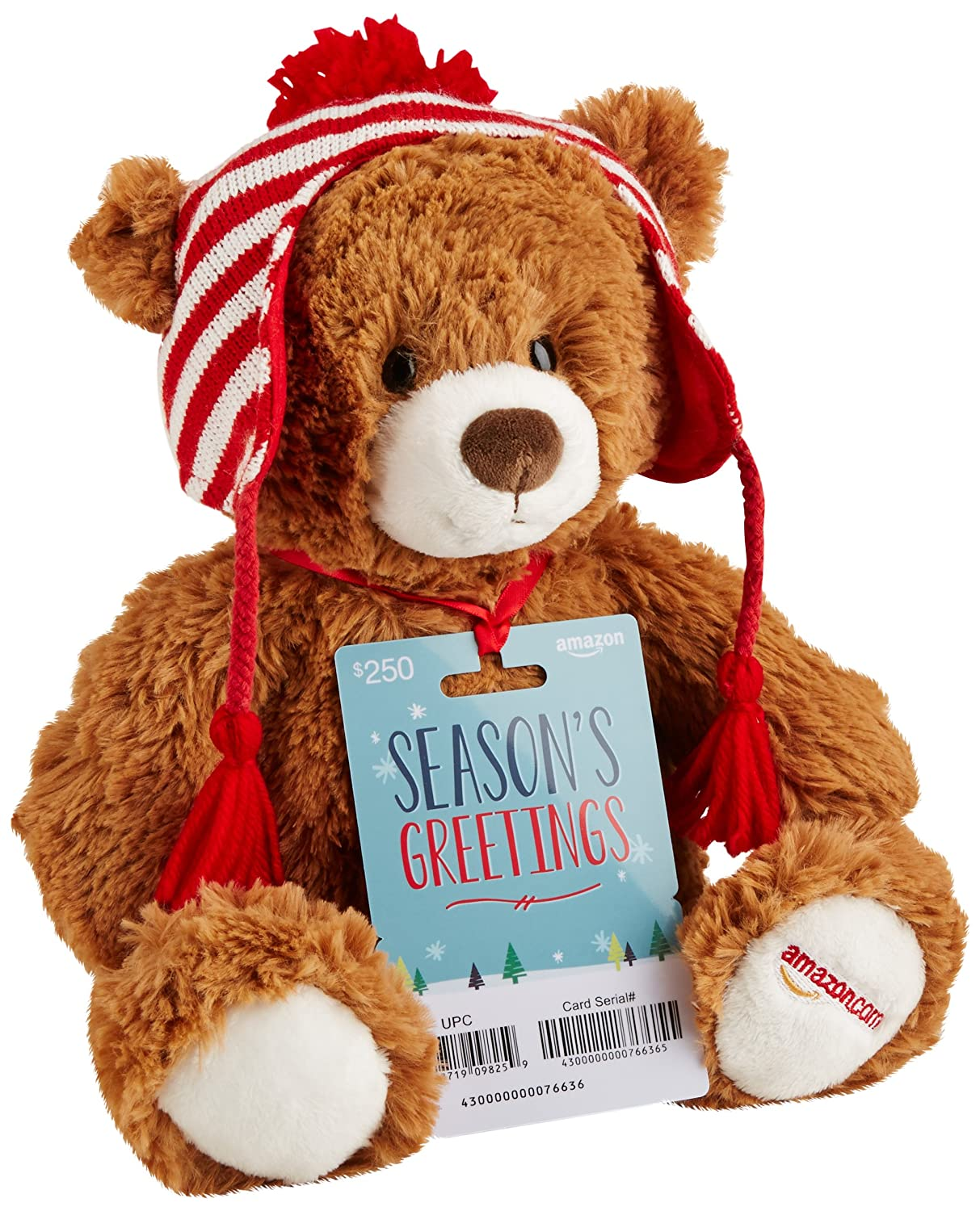 Amazon.com Gift Cards - With Limited Edition Gund Teddy Bear - Free One-Day Shipping
