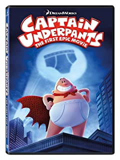 Book Cover: Captain Underpants: First Epic