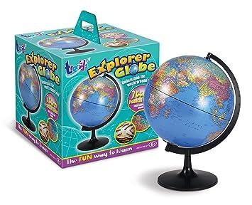 Trends uk sm05 globo terr queo con mapa pol tico 28 cm amazon - Globo terraqueo amazon ...