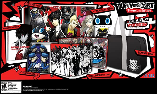 Persona 5 - PlayStation 4 Take Your Heart Premium Edition