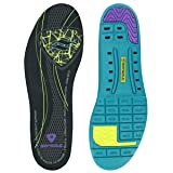 Sof Sole Thin Fit Lightweight Comfort Shoe Insole for Low Arches, Women's Size 8-11 (Color: Black, Tamaño: W 8-11)