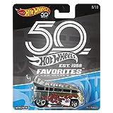 Hot Wheels 50th Anniversary Favs Volkswagen T1 Drag Bus (Color: Multicolor)