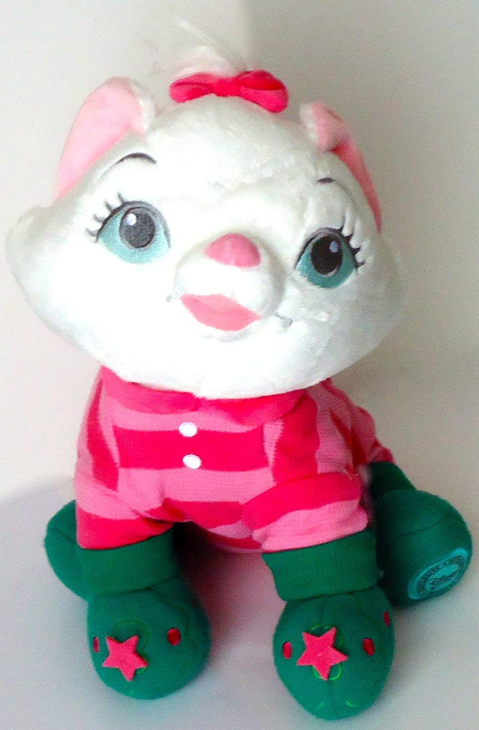 Disney Christmas Morning Marie Plush