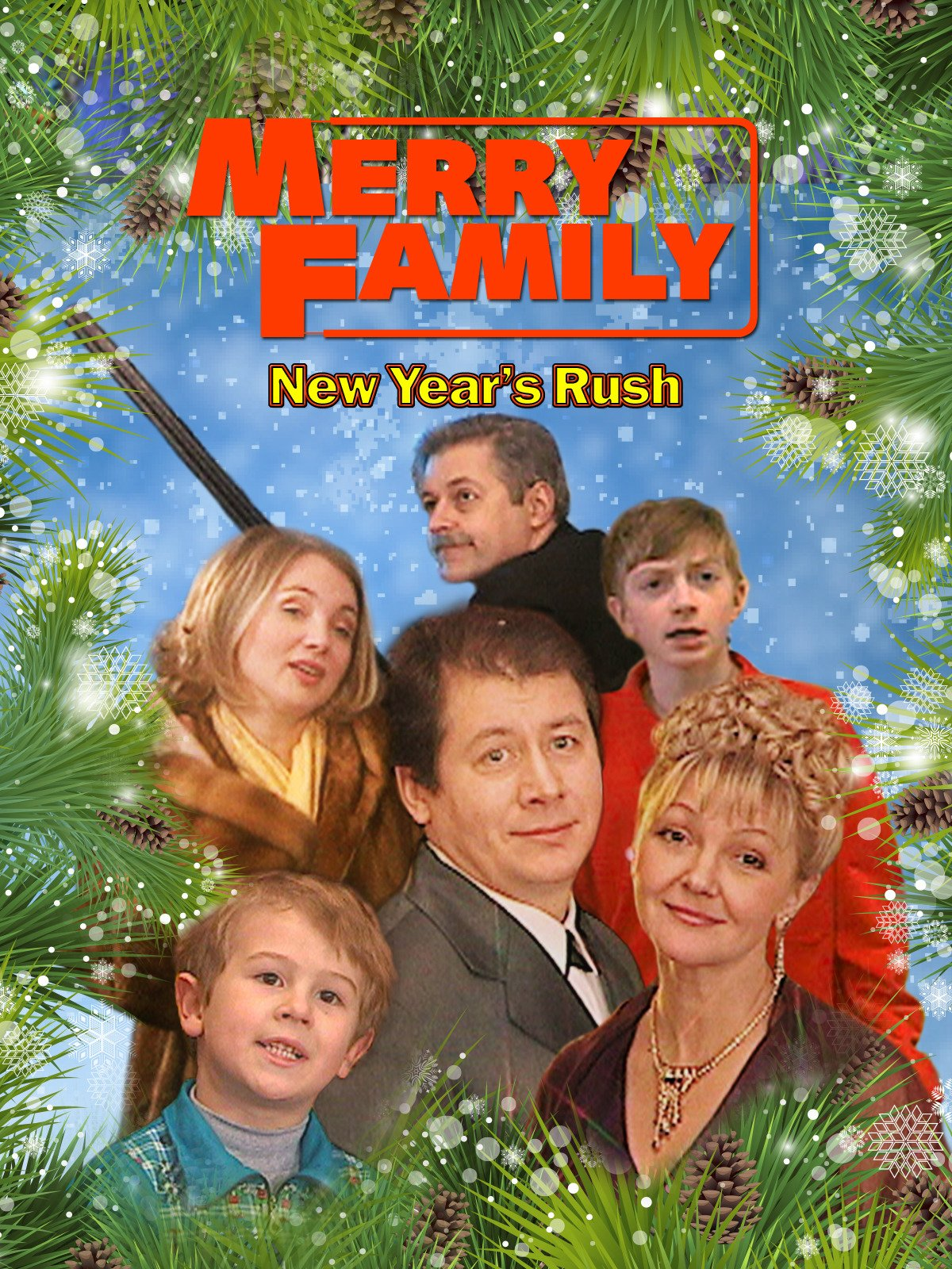 Merry Family. New Year's Rush on Amazon Prime Instant Video UK