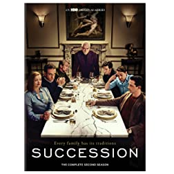 Succession: The Second Season (DVD)