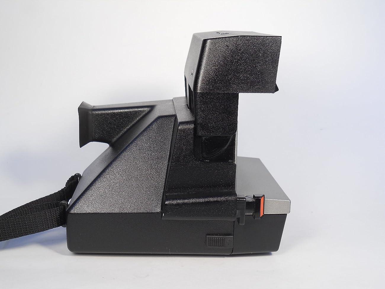 Polaroid Spirit 600 Vintage Instant Camera w/ Silver/Gray Front 4