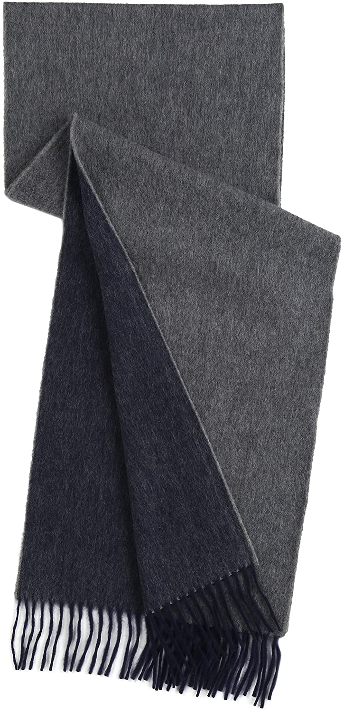 Amazon.co.jp: (ドレイクス)DRAKE'S SEMI REVERSIBLE SOLID SCARVES AL01.70001 709 GREY / NAVY ONE: 服&ファッション小物通販