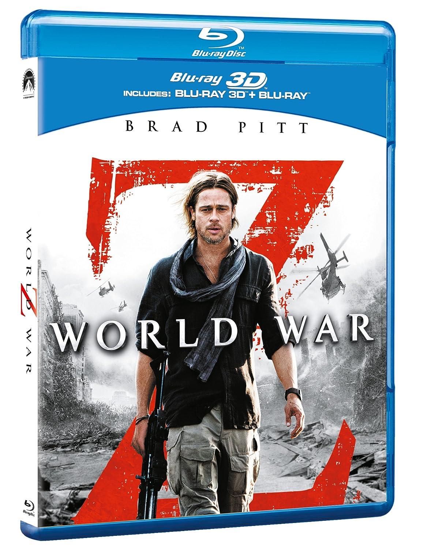 World War z Blu Ray World War z 3d Blu-ray