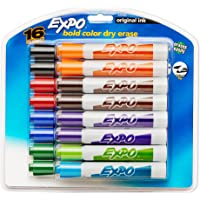 16-Count EXPO Original Chisel Tip Dry Erase Markers (Assorted Colors)