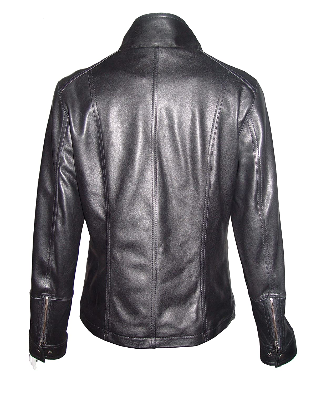 Nettailor WoHerren Plusgr??e 4202 weich Leder neu l?ssig JackeRei?verschluss Front Schlie?ung günstig kaufen