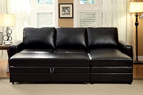 Furniture of America Knowles Corner Sofa