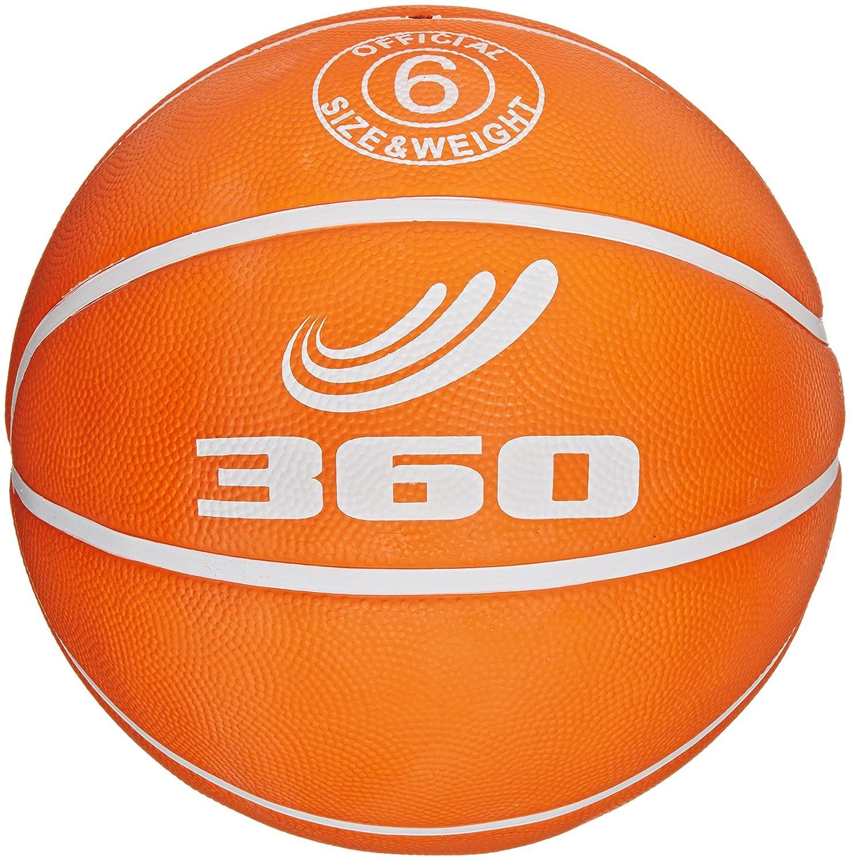 360 Athletics Playground Rubber Basketball, Size 6, Orange by 360 Athletics online bestellen