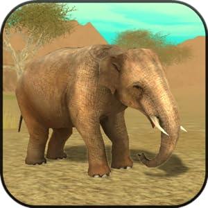 Wild Elephant Sim 3D from Turbo Rocket Games