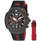 Technomarine Men's 'Black Reef' Swiss Quartz Stainless Steel Casual Watch (Model: TM-515018) (Color: Model: TM-515018)