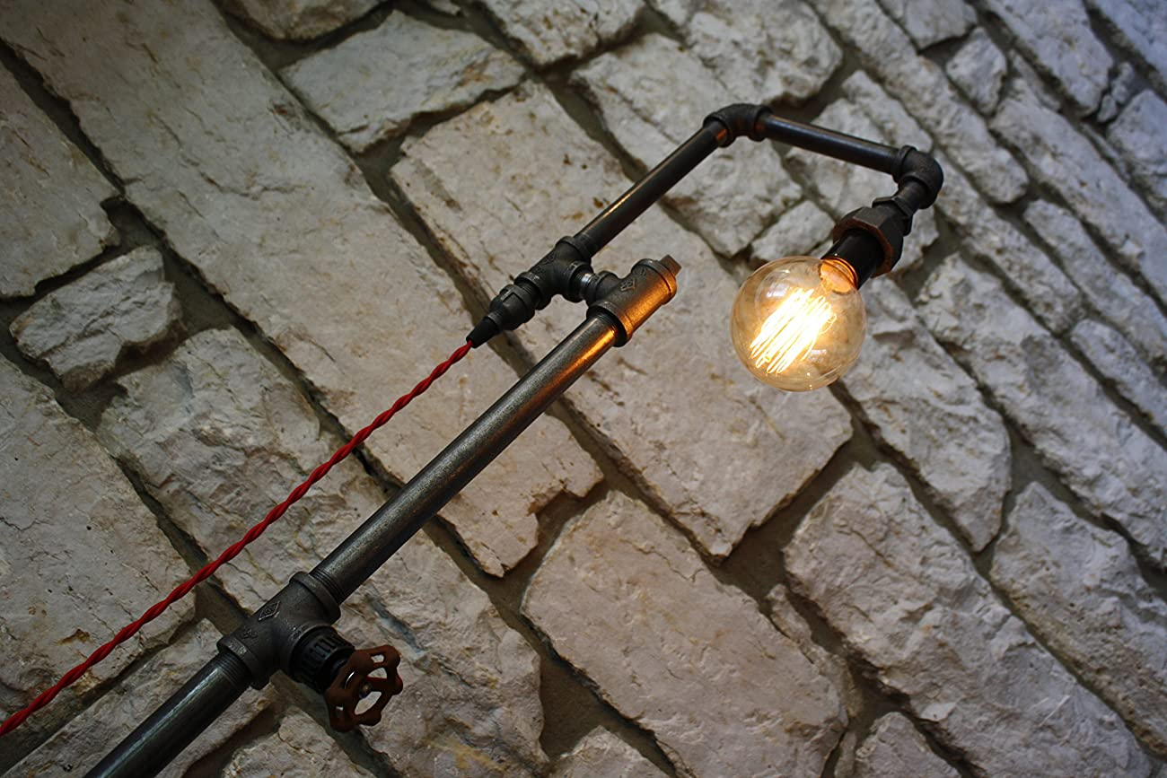 Edison Bulb Floor Lamp - Industrial Style Floor Lamp 3