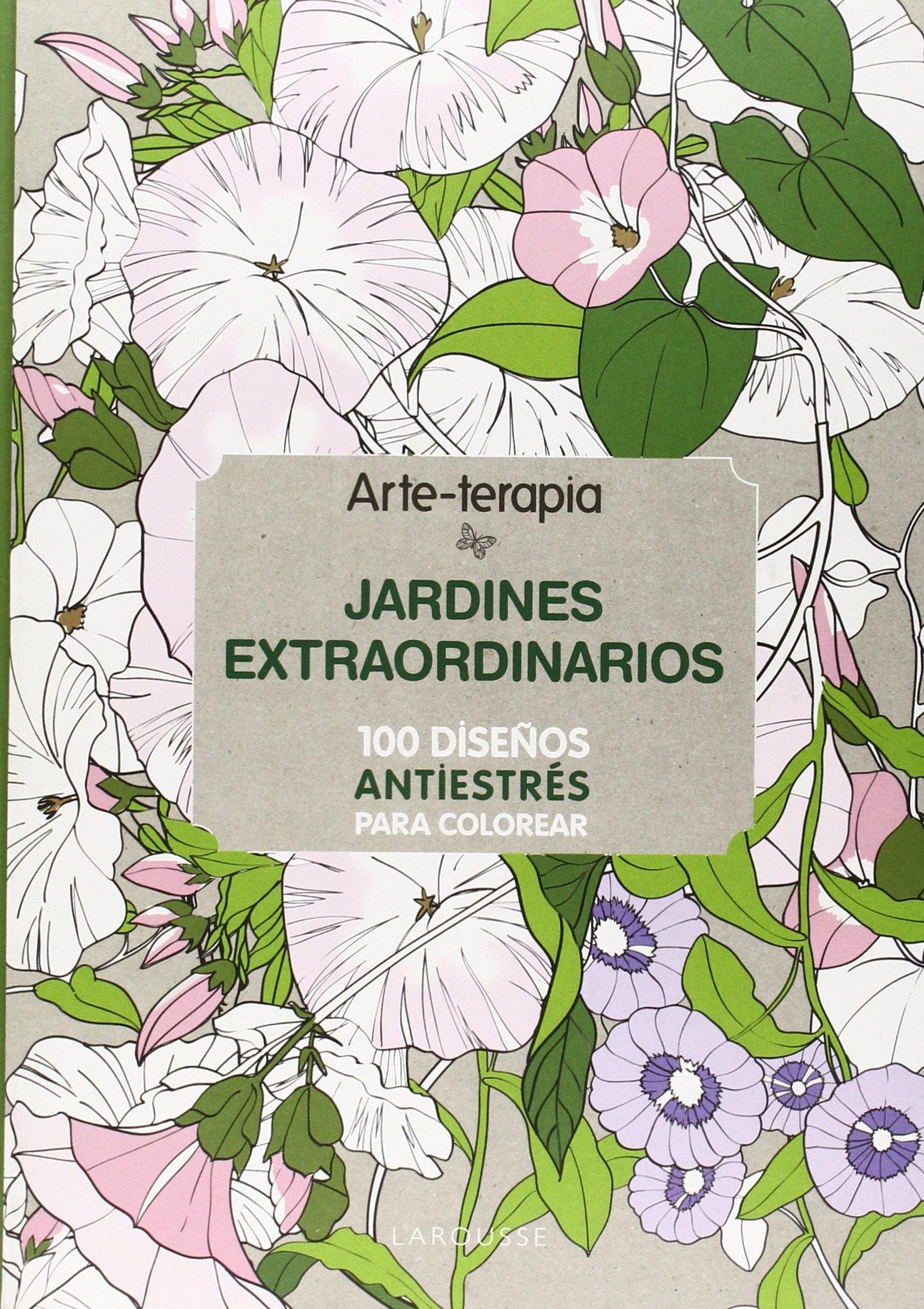 100 Diseños Antiestrés para colorear | Todo con las flores: decorar ...
