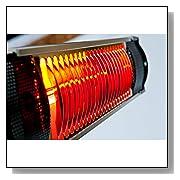 Indoor/Outdoor Infrared Wall Mount Heater
