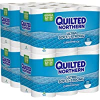48-Pack Quilted Northern Ultra Soft and Strong Double Roll Toilet Paper