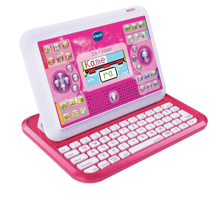 VTech 80-155554 – 2-in-1 Tablet, pink als Weihnachtsgeschenk