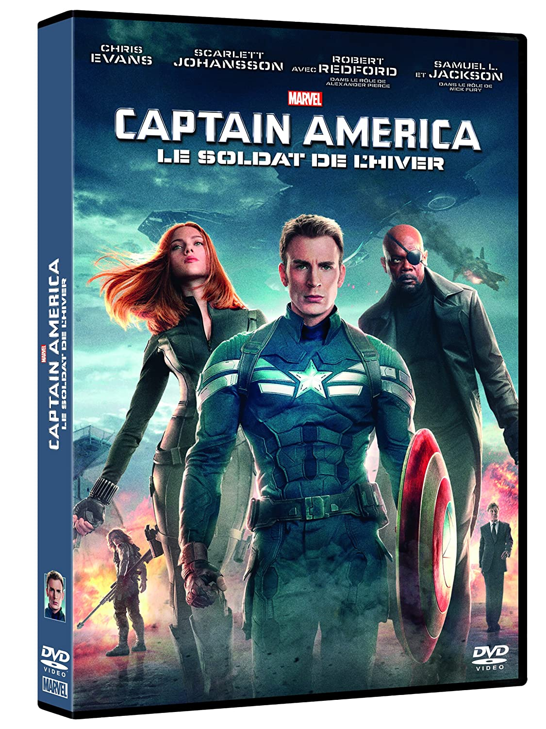 Captain America 2 = Captain America : the winter soldier : Soldat de l'hiver (Le) / Joe Russo; Anthony Russo, Réal. | Russo, Joe. Monteur