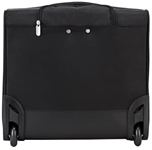 Targus Rolling Overnighter/Laptop Case for 15.6-Inch Laptops (TBR021) (Color: Black, Tamaño: 15.6 Inches)