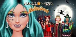 Halloween Makeover: Spa, Makeup and Dress Up - Fashion and Beauty Salon Game! from Peachy Games LLC