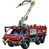 LEGO Technic Airport Rescue Vehicle 42068 Building Kit (1094 Piece) + LEGO Creator Jolly Santa 30478