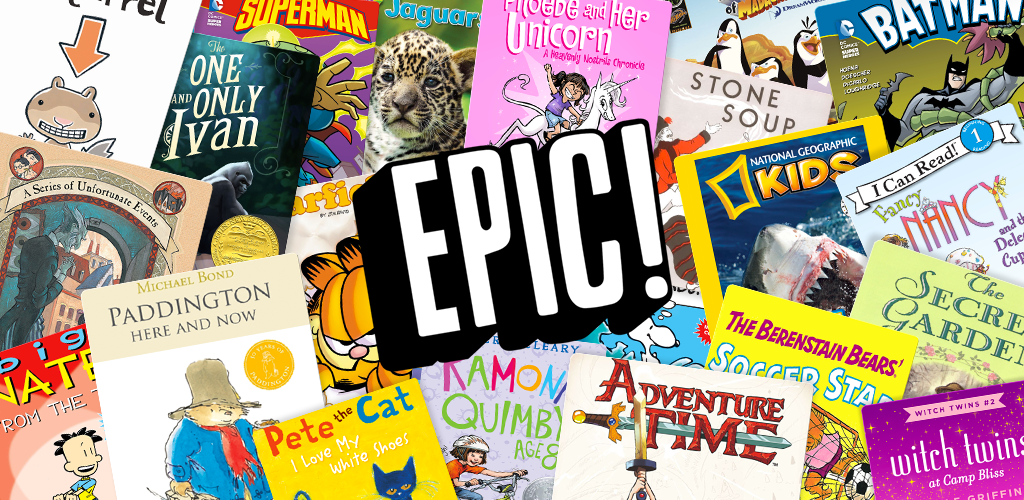 Get Epic Books For Kids Figur8 Nurture For The Future