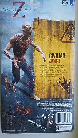 World War Z zombie chiffre d'action civile
