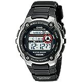 Casio Men's WV200A-1AV Waveceptor Watch with Black Band (Color: Black)