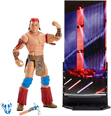 WWE Dxj10 Elite Tatanka (Homonymie) Action Figure