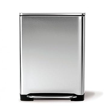 simplehuman treteimer f r m lltrennung 46 liter dc39. Black Bedroom Furniture Sets. Home Design Ideas