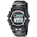 Casio G-Shock G2310R-1 Men's Solar Black Resin Sport Watch (Color: Black)