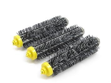 3 brosse poils poils pour irobot roomba s ries 600 et et 700 hannets no 6 3 cuisine. Black Bedroom Furniture Sets. Home Design Ideas