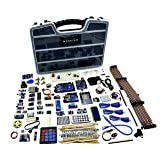 A&R Nano Uno Mega Monster Starter Kit for Arduino, Complete Set with 25 Sensor Modules, Bluetooth WiFi Ethernet for Electronics STEM Robotics Projects