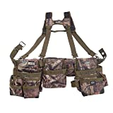 Bucket Boss 3 Bag Tool Bag Set with Suspenders in Mossy Oak Camo, 55185-MOSC (Color: Mossy Oak Camo)