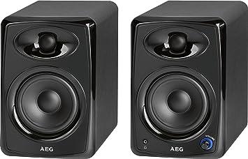 AEG BSS4812BK Haut-parleur Bluetooth Noir