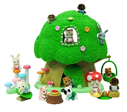 Calico Critters Toys Discovery Forest