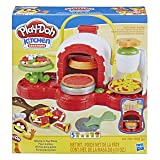 Play-Doh Stamp 'n Top Pizza Oven Toy with 5 Non-Toxic Play-Doh Colors (Color: Multicolor)