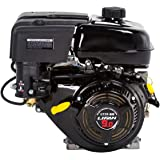 Lifan LF177F-BHQ 9 HP 270cc 4-Stroke OHV Industrial Grade Gas Engine with 6:1 Gear Reduction, Recoil Start and Universal Mounting Pattern (Color: Recoil Start with 6:1 Gear Reduction, Tamaño: 9 MPH)