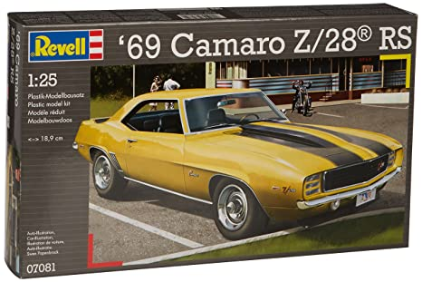 Revell - 07081 - Maquette - 1969 Camaro Z-28 RS