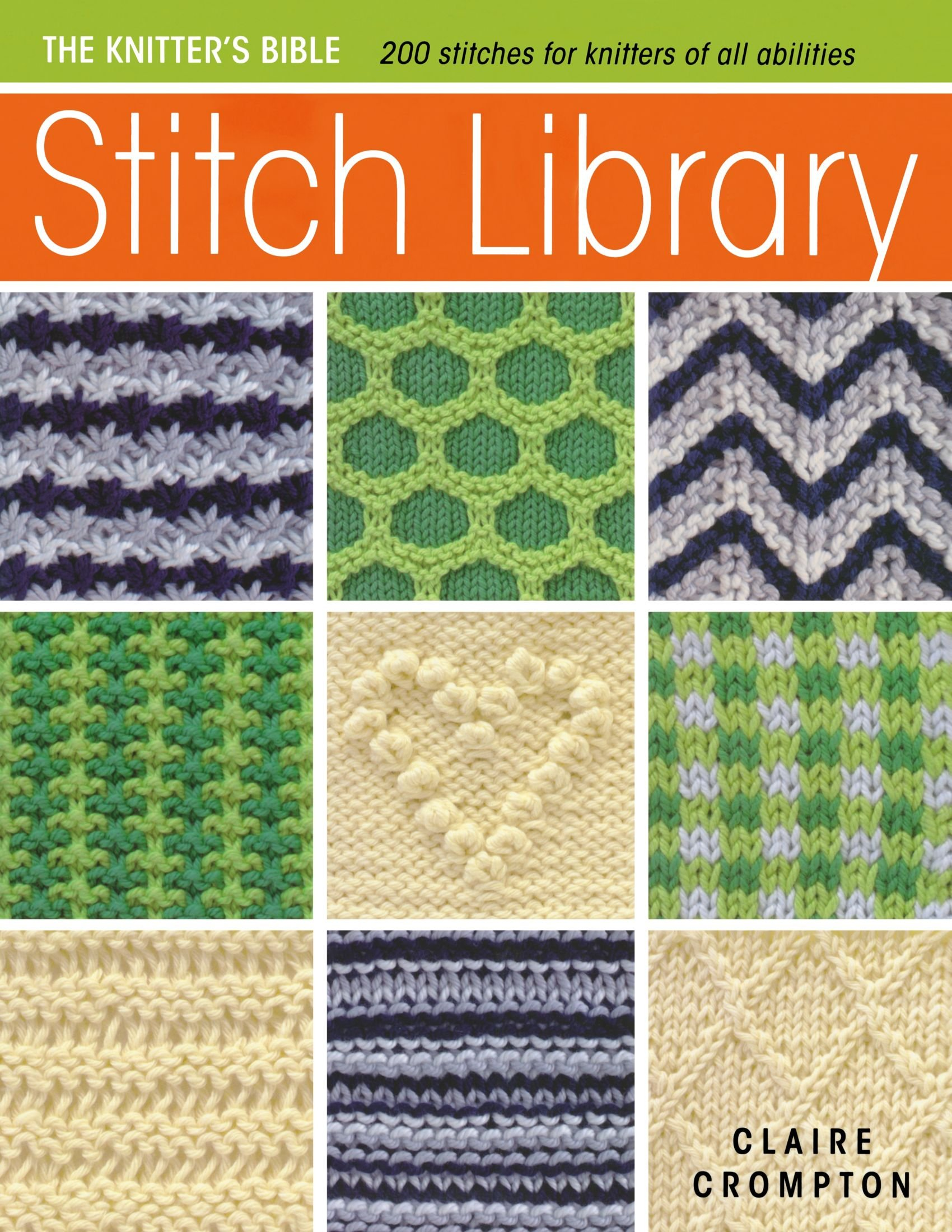 Knitting Stitches Library images