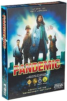 Asmodee - 691100 - Jeu - Pandémie