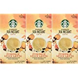 Starbucks VIA® Ready Brew Pumpkin Spice Latte 15 Servings (3 Pack/Boxes) 5 Packets Each Box (Color: Brown)