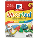 McCormick Assorted Food Color, 1 fl oz (Tamaño: 12 oz)