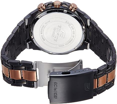 buy casio edifice chronograph black dial men s watch efr 539bkg buy casio edifice chronograph black dial men s watch efr 539bkg 1avudf ex220 online at low prices in amazon in