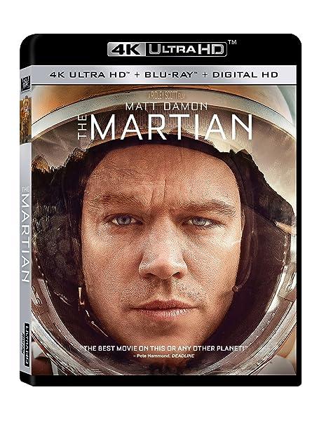 The Martian [4K UHD] [Blu-ray]