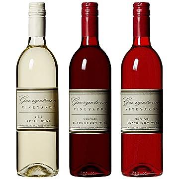 Apple, Cranberry & Blackberry Wine